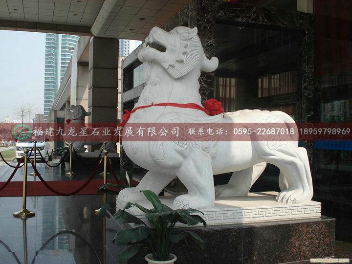 动物石雕惠安工艺品