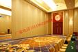 衢州高级酒店宴会厅安装移动隔断墙,活动隔断,推拉折叠隔断屏风