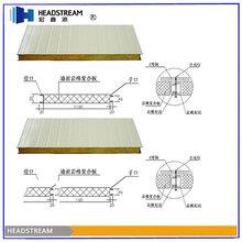 岩棉彩钢板厂家图片