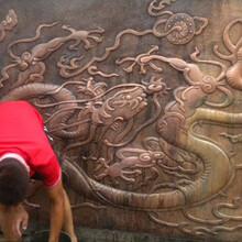 北京浮雕雕塑定做北京玻璃鋼仿銅浮雕定做廠家圖片