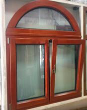 山东华建铝型材铝包木门窗