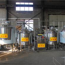 西藏酸奶發酵設備酸牛奶殺菌灌裝生產線圖片