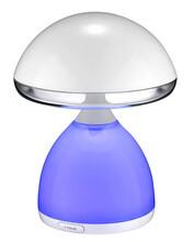 炫彩礼品蘑菇灯手机wifi控制调光调色震动感应拍击控制开关学习护眼小台灯图片