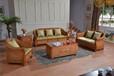 真藤沙發組合客廳家具藤編藤木藤藝茶幾角幾天然藤椅沙發椅三人位