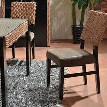 休闲藤椅子茶几三件套户外庭院桌椅组合阳台藤椅腾椅单人滕椅子图片