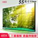 桂林46寸55寸液晶拼接屏HKR提供上門設計安裝服務