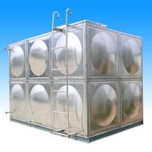 山西長治市立式不銹鋼水箱臥式保溫水箱消防水箱圖片