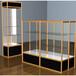 全新玻璃展示柜化妆品玻璃展示柜厂家直供款式新颖