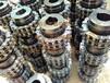 大量供應滾子鏈條聯軸器泊頭市鑫臨傳動廠家直銷滾子鏈軸器