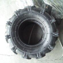 山东厂家批发400-8拖拉机轮胎农用人字花纹轮胎微耕机轮胎