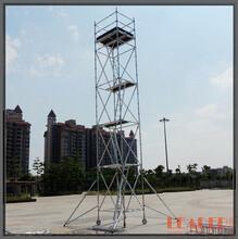 通用工作架10.5m铝合金脚手架灯饰维修/广告维护/高空清洁适用