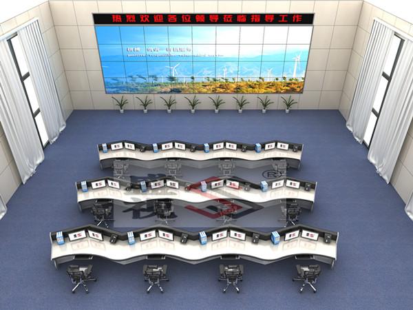广州指挥中心调度台指挥中心控制台厂家灵活制作指挥桌图片效果