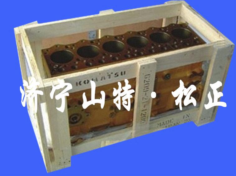 PC130-7缸体6205-21-1504PC60-7/4D95曲轴6205-31-1202天津津南沃尔沃挖机装载机原厂配件厂家直销0537-3365636