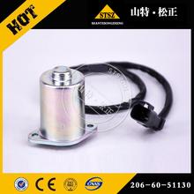 小松PC200-6电磁阀206-60-51130重庆长寿小松PC200-6挖掘机旋转电磁阀