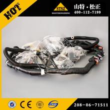 小松配件PC400-7电脑板线束208-06-71511江苏南通如皋PC450-7驾驶室配件显示屏线束