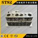 小松PC200-7挖掘機原裝發動機缸體6731-21-1170陜西延安子長發動機6D107缸體中缸總成