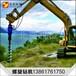 挖掘机钻坑挖掘机上装螺旋钻小型挖掘机螺旋钻机