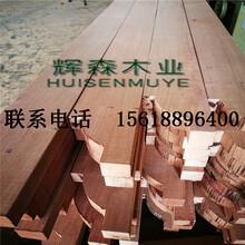 柳桉木防腐木厂家港口直供原木开料价格批发
