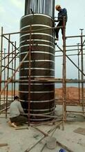 上海圓柱模板,虹口圓柱模板,圓模板重復利用圖片