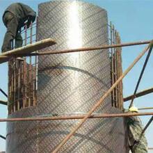 福建圓柱模板,泉州圓柱模板,圓模板的維護圖片
