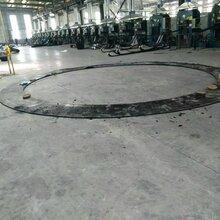 地铁盾构区间洞门施工用圆环板、扇形翻板、帘布橡胶板及压板厂家加工定做图片