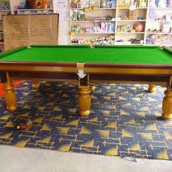 东阳二手台球桌回收专车上门拆卸专业台球桌安装换布等