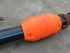 友特容器直销耐酸碱耐腐蚀水上发泡浮筒长度90cm