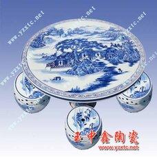 手绘陶瓷桌凳,精致陶瓷桌凳,批发陶瓷桌凳,日用陶瓷桌凳