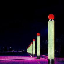 现代景观灯PS现古结合优威斯特通体透光景观灯图片