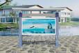安徽滁州宣传栏壁挂式宣传栏设计厂家现设计出图和定制