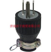 WF8420K接地3P20A下引挂式工业插头浙江温州松下WF8420K图片