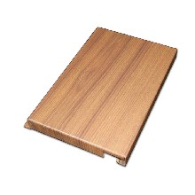 非標定制木紋鋁單板木紋G型勾搭板木紋勾搭鋁單板圖片