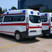 亳州利辛县120救护车出租收费标准图片