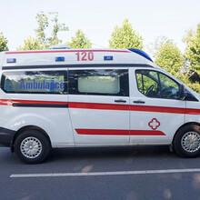 呼伦贝尔长途救护车出租专用车辆图片