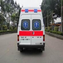 惠州惠阳120救护车出租收费标准图片