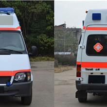 广西壮族自治百色乐业县长途救护车出租带呼吸机的救护车图片
