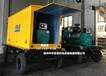 定制静音发电机、南通厂家订做各种颜色的发电机静音箱/移动拖车