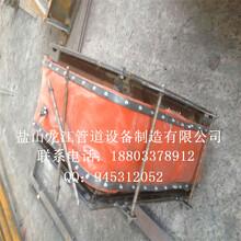供应龙江烟道非金属补偿器硅胶布织物补偿器非金属膨胀节图片