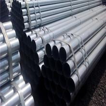 天津Q235预涂覆热浸锌钢管喷砂处理耐磨耐酸碱热镀锌涂覆镀锌管图片