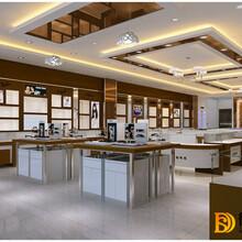 陕西西安易购平价眼镜超市装修设计效果图
