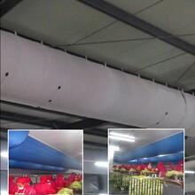 静音布风管暖通布袋风管纤维织物风管图片
