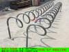 卡位式自行车停车架卡槽式自行车停车架插入式自行车停车架