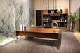 现代实木办公家具,自由畅想系列2.4米实木班台