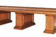 佳诚九悦实木办公家具亨利一世系列4.2米全实木会议桌