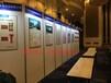 重庆八棱柱展板租赁可打灯画展展板广告折叠屏风展板