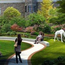 广州绿化景观设计天河区楼顶花园鱼池假山园林绿化设计