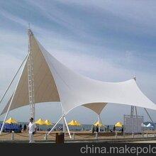 安顺市广场舞台张拉膜制作,汽车车棚膜结构安装图片