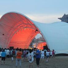 吉安市网球场张拉膜,广场舞台膜结构制作图片