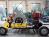 金诺机械柴油移动盘式木材削片机