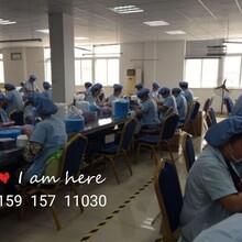 广州白云区纯手工折叠面膜布加工都找他们,环境好效率高包接送货